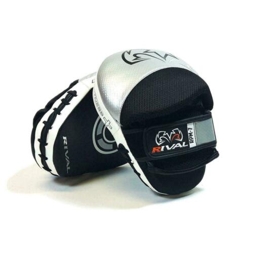 Rival Boxing Focus Mitts RPM7 Argento-Nero