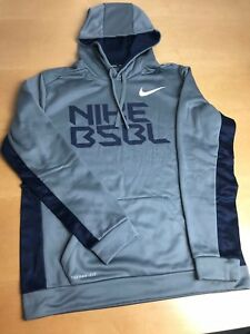 Image is loading NIKE-KO-BASEBALL-THERMA-FIT-PULLOVER-TRAINING-HOODIE- d4bb3ae8b
