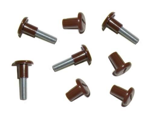 Verbindungsschrauben HETTICH 01346 braun M6 Ø 8 mm 29-36 mm Verbindungsschrauben