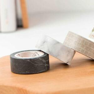 Black-White-Marble-Washi-Tape-Scrapbook-Paper-Sticker-Decorative-Masking-Tape