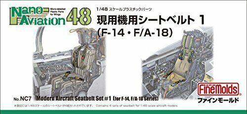 Fine Molds 1//48 Série Aviação Nano trabalhando Máquina Para Cinto De Segurança 1 F-14//F?