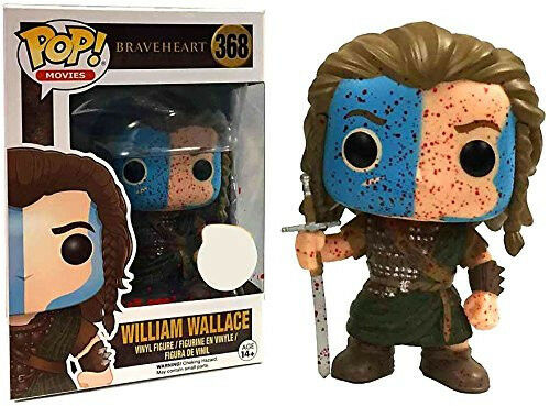 Funko Braveheart William Wallace Bloody Exclusive Pop