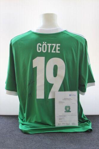 Deutschland Trikot XXL Mario Götze signiert DFB Borussia Dortmund BVB
