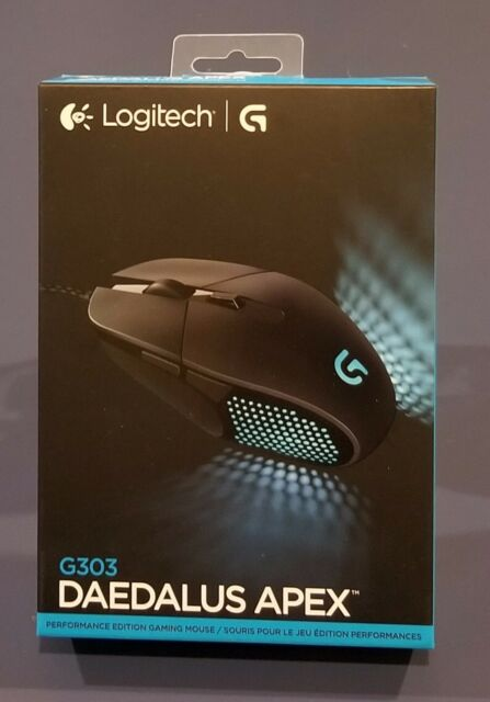518c3c1e7ba SEALED Logitech G303 Daedalus Apex Performance Edition Gaming Mouse  (910-004380)