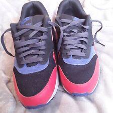 the best attitude c931f 62e63 item 2 Nike Air Max 1 Essential Black Hyper Crimson Men Sneakers 537383 017  Size 9.5 -Nike Air Max 1 Essential Black Hyper Crimson Men Sneakers 537383  017 ...
