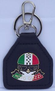 Moto Guzzi Rider Genuine leather key fob. B030605F