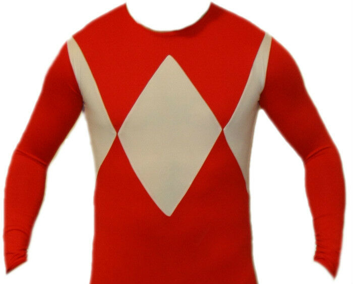 Ultimate Ranger Ranger Ranger Suit Power Red Costume XL (Read sizing info) 8a6086