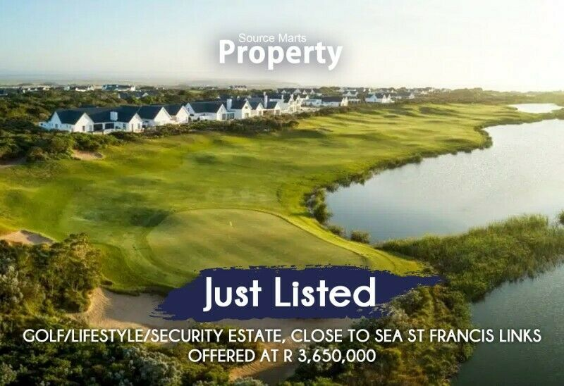 Just Listed – Golf/Lifestyle/Security Estate, Close to sea St Francis Links
