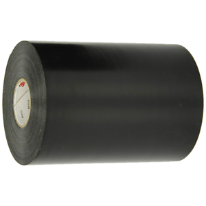 3M Scotchrap Vinyl Corrosion Protection Tape 50, Unprinted, 6 in x 100 ft, Blk