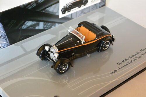 MINICHAMPS 437119260 Lorraine Dietrich B3-6 Sports Roadster 1928 1//43
