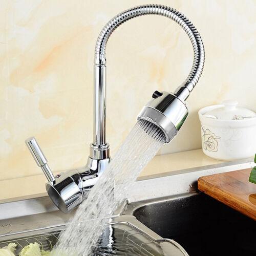 mitigeur évier chromé en FR Design Robinet mitigeur de cuisine avec douchette
