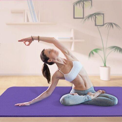 Mat Exercise Yoga Pad Fitness Thick Non-slip Folding Gym Fitness Mat Pilates