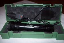 new  Tourch Police  Electric Shock  LED Flashligh replaceable batteries