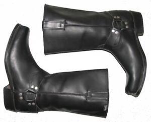 """ TIMOTHY "" Herren- Westernstiefel / Stiefel / Biker- Boots schwarz ca. Gr. 44,5"