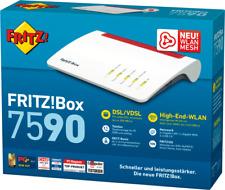Artikelbild AVM FRITZ!Box 7590 Modem Router Weiss-Rot  NEU OVP
