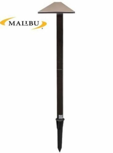 5 Malibu Landscape Lighting Equinox Led Low Voltage Pathway Brown Metal Light Ebay