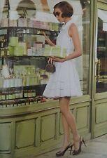 Louis Vuitton White Dress Resort Size 34FR