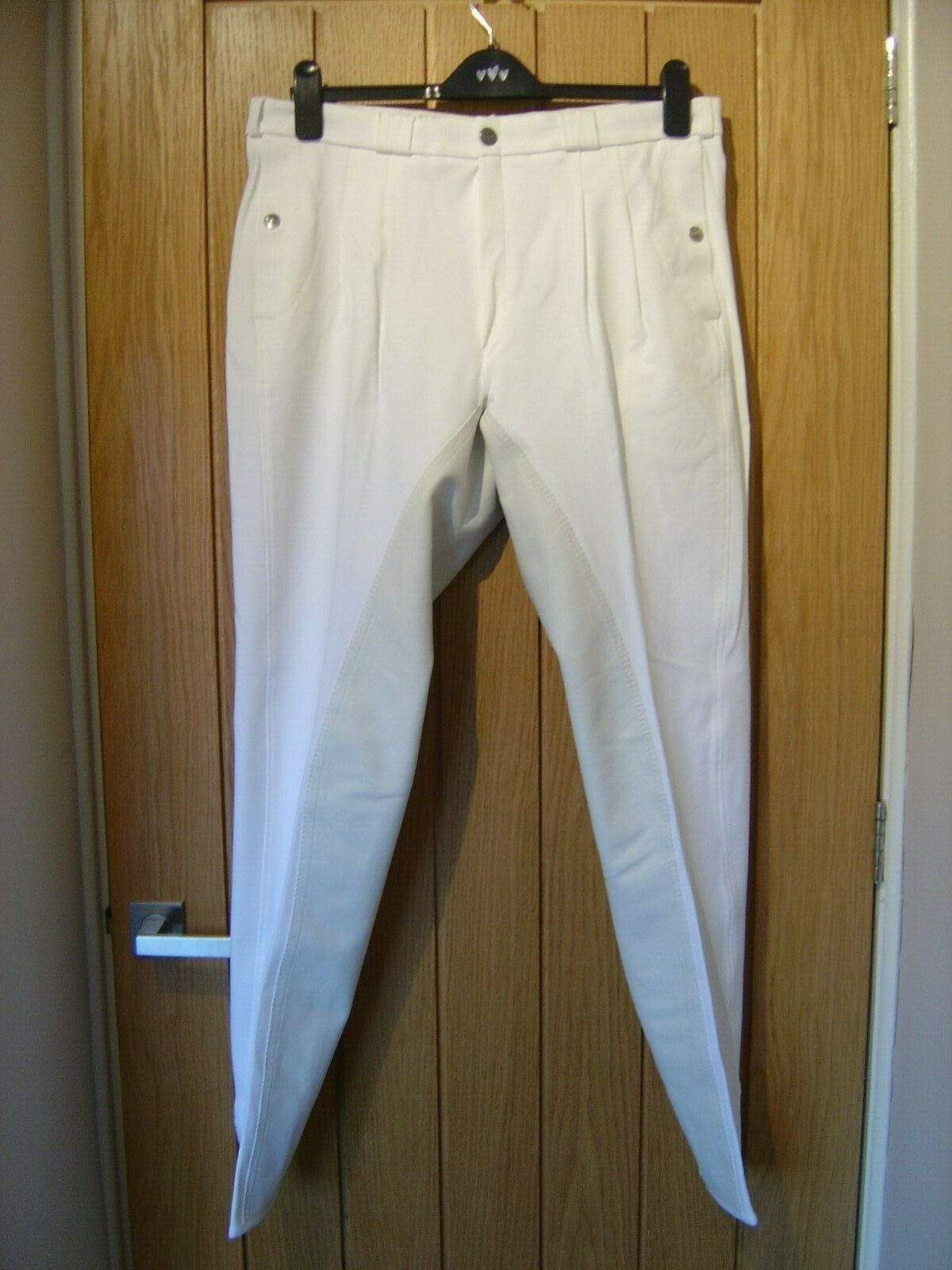 Pikeur Volturno Mens Breeches  White Full Seat 38  Long NEW RRP  (Ref Z)  we offer various famous brand