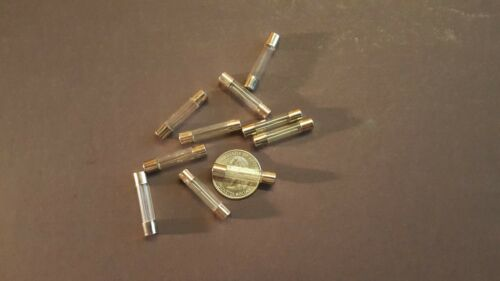 1//4 AMP GLASS FUSE 10 PACK 0.25A fast blow 6x30mm FUSE