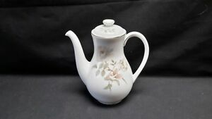 Royal-Doulton-England-Bone-China-Yorkshire-Rose-H5050-Coffee-Pot-amp-Lid