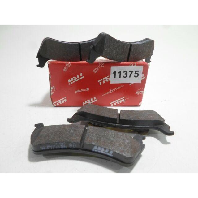 Tabletas Pastillas de Freno Trasero Rear Brake Pad Set TRW Ford USA Explorer 96