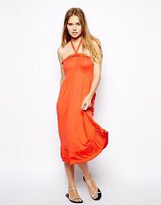 """Size 10  BNWT ASOS Halterneck /""""beach/"""" dress"""