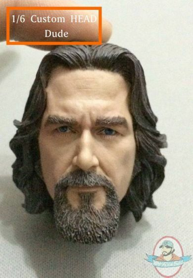 1 6 Accessories RT-Dude The Dude HeadSculpt for 12 inch Figures Regal Toys