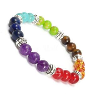 Natural-Lava-Rock-Gemstone-Beads-Bracelet-Buddha-Charming-Beaded-Bracelet