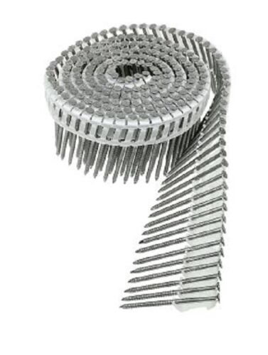 """Simpson Swan 2 1//2/"""" Plastic Coil Stainless Steel Nails New S13A250IPC 3200 Nails"""