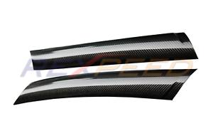 REXPEED Dry Carbon Exterior A Pillar Cover Gloss for Toyota Supra 2020 A90 MKV