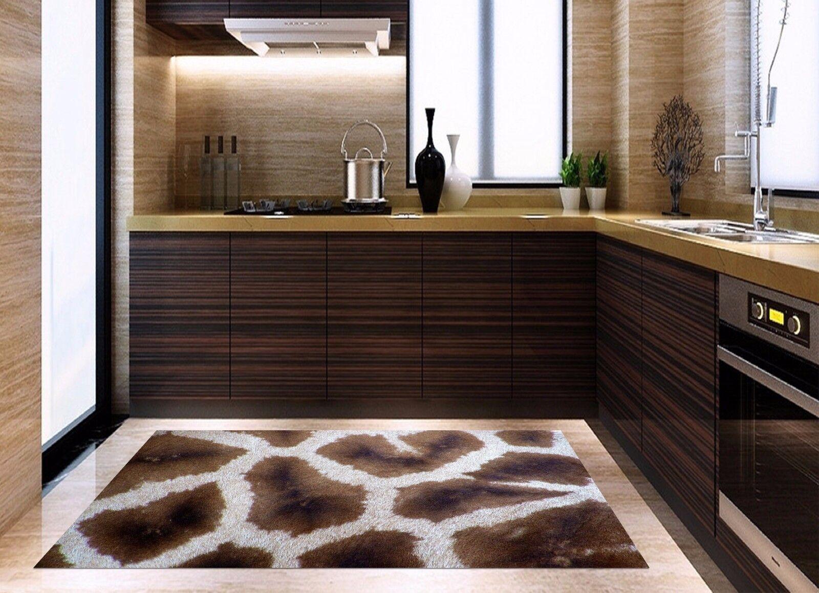 3D Leopard 883 Kitchen Mat Floor Murals Wall Print Wall Deco UK Carly