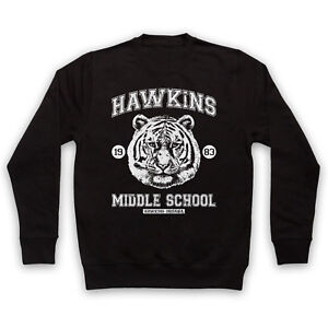 Stranger Things Hawkins Middle School Unofficial Tiger Adults Kids