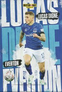 Motd Poster 2020 Everton France Fc Barcelona Psg Lille Lucas Digne Ebay