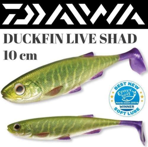 Daiwa Soft Shad Lure Duckfin Live Shad 10 Cm
