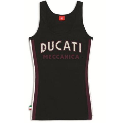 S CANOTTA MECCANICA DONNA ORIGINALE DUCATI 98769415 100/% COTONE USO ESTIVO TG