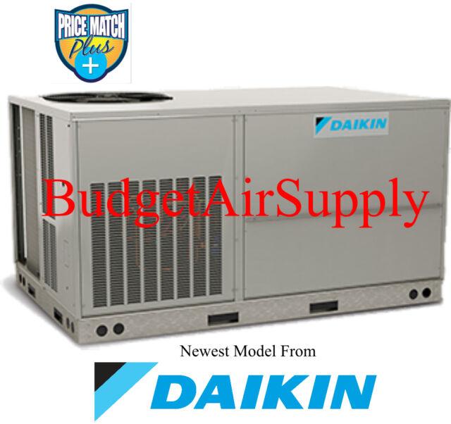 DAIKIN Commercial 5 ton 13 seer(208/230v)3 phase 80% 140k BTU Gas Package Unit