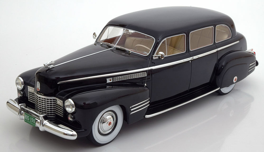 1941 Cadillac Fleetwood 75 Touring Sedan Schwarz von Bos Modele Le Of 1000 1 18