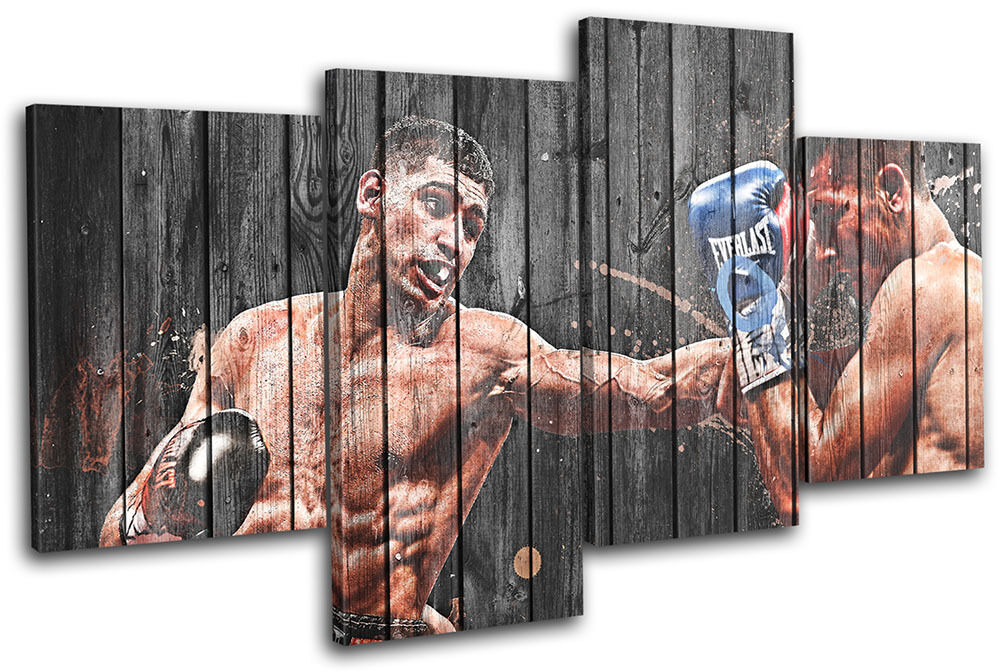 Amir Khan Boxing  Sports MULTI Leinwand Wand Kunst Bild drucken