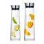 1L-1-5L-Round-Glass-Water-Bottle-Stainless-Lid-Glass-Carafe-for-Water-Juice-Wine thumbnail 2