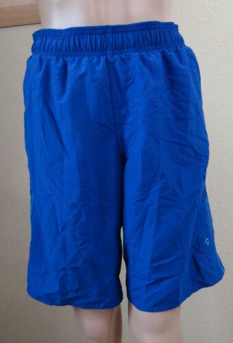 NWT SPEEDO Marina Boys/' surf dark blue Swim Trunk//board shorts,size S or XL