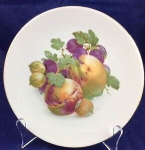 Vintage-Royal-Bareuther-Germany-7-75-034-Fruit-and-Nut-Plate-Dish