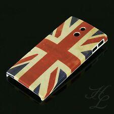 SONY LT22i XPERIA P Hard Case Schutz Hülle Handy Motiv Etui England Flagge