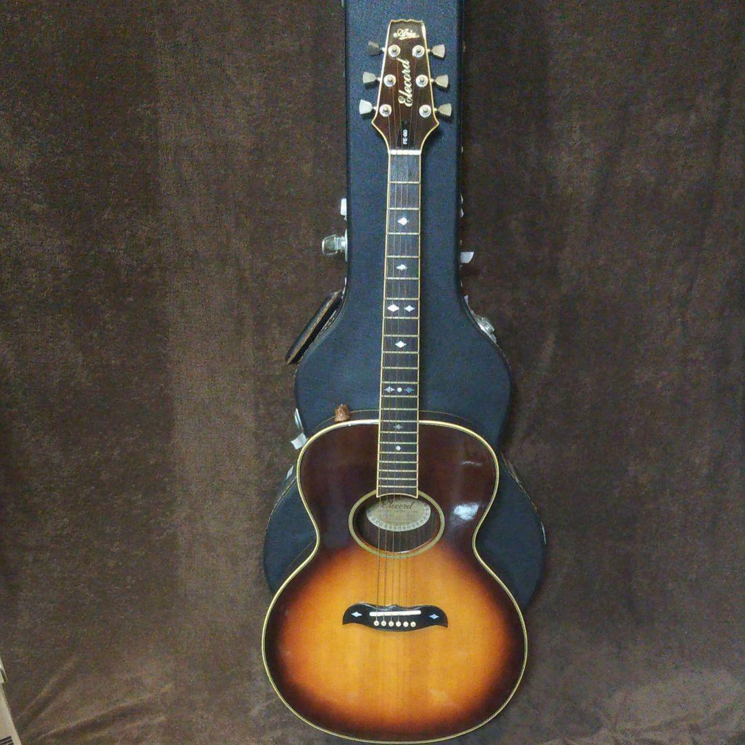 Aria Elecord FE-60 acoustic guitar Japan rare beautiful vintage popular EMS F  S
