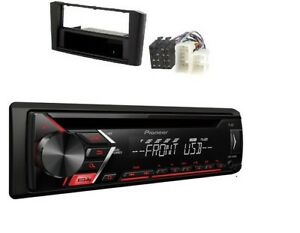 Pioneer-deh-s100ub-MP3-AUX-CD-USB-Set-d-039-installation-pour-1-2-DIN-TOYOTA-AVENSIS