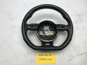 08-16-AUDI-S5-RS5-A5-OEM-FLAT-BOTTOM-STEERING-WHEEL-8K0419091CK