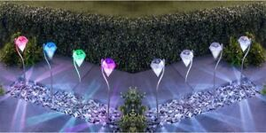 6-x-Diamond-Solar-Lights-Stainless-Steel-Bright-Colour-Changing-Stake-Lighting