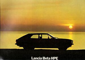 Catalogue Lancia Beta Hpe
