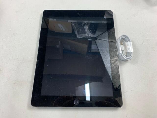 Apple iPad 4th Gen 32GB Wi-Fi 9.7in Black Silver A1458 READ MAIN Ref: A670