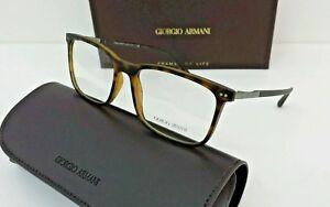 eb908cd0d20 Image is loading Giorgio-Armani-Glasses-Eyeglasses-Mod-7122-Large-Brown-