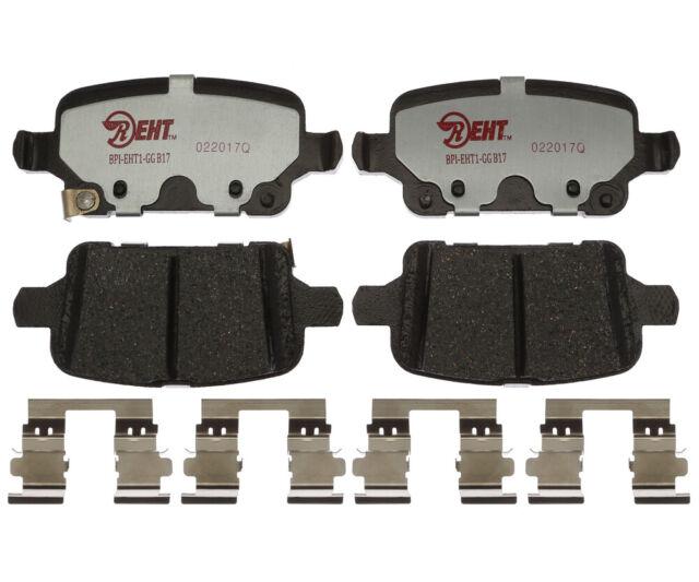 Disc Brake Pad Set-Element3; Hybrid Technology Rear Raybestos EHT1857H